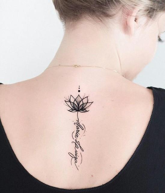 Tatuajes De Flor De Loto Originales Y Unicos Mini Tatuajes