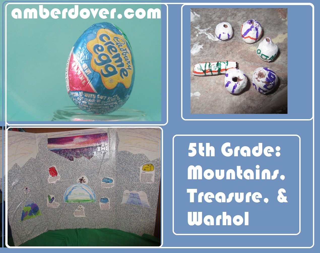 5th Grade: Mountains, Treasure, & Warhol - amberdover.com