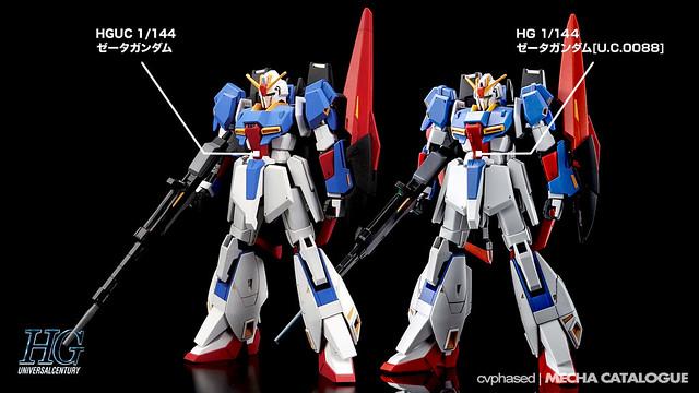 Bandai Hobby Online Shop Exclusive - HGUC Zeta Gundam [U.C.0088]