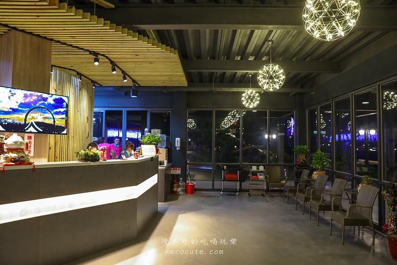 新竹縣-古山星辰景觀咖啡廳夜景