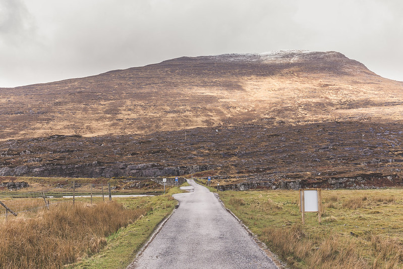 Bealach na Ba - road to Applecross - Scotland 2017