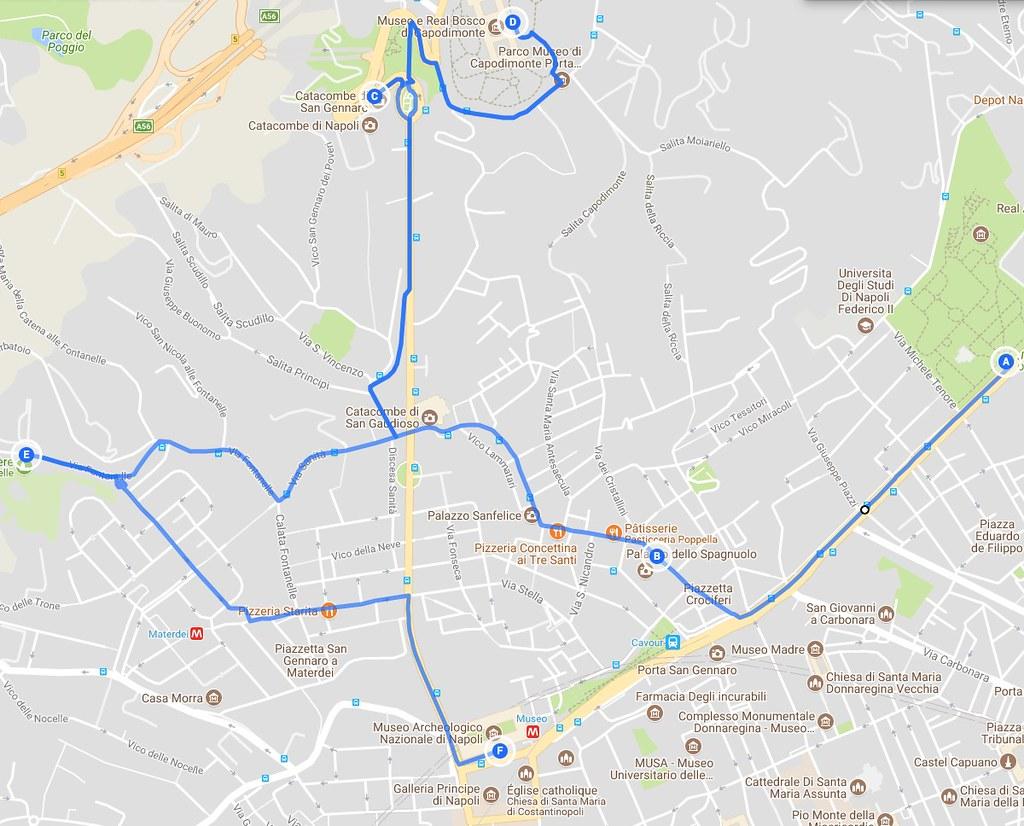 Jour 3 à Naples : Itinéraires hors des sentiers battus à la Sanita/Materdei
