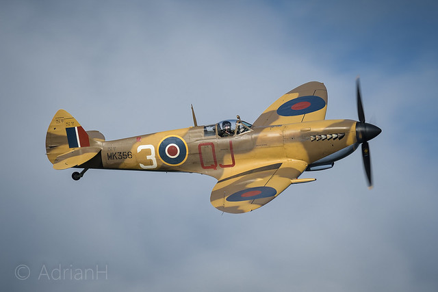 Spitfire MK9 from the BBMF