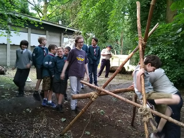 Will their Scout Craft Construction Take Their Weight?