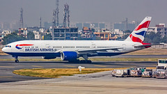 British Airways Boeing B777-200ER G-YMMG New Delhi (DEL/VIDP)