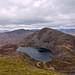 Rhinog Fach, Llyn Hywel and Rhinog Fawr from Y Llether, Snowdonia by Miche & Jon Rousell