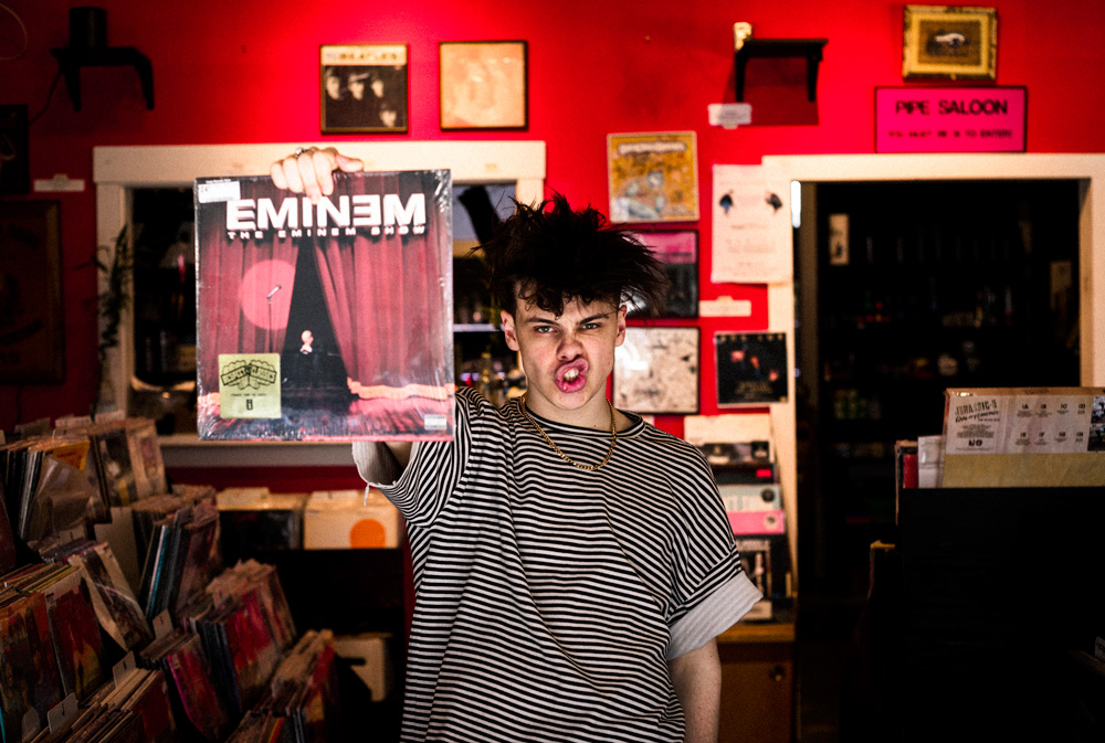 Record Shopping with Yungblud at Creep Records