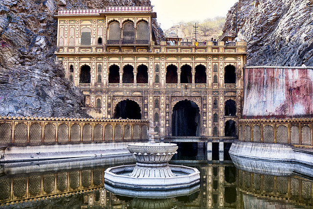 India: The Monkey Temple.