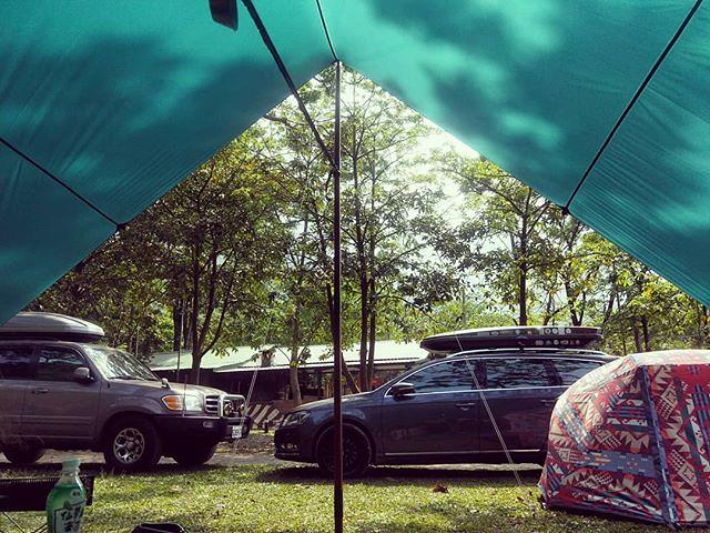 20180406 舒服的溫度與陽光 還有徐徐涼風 打個盹好了 #歐北露 #campinglife #ilovecamping #TiiTentTeraL方形天幕 #poler