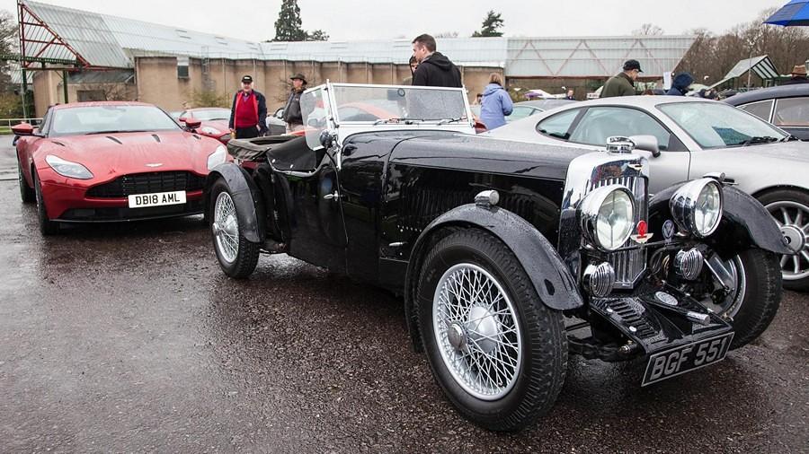 1934 Aston Martin MkII, 2018 Aston Martin DB11