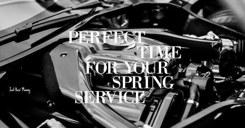 Perfect time for your Spring Service