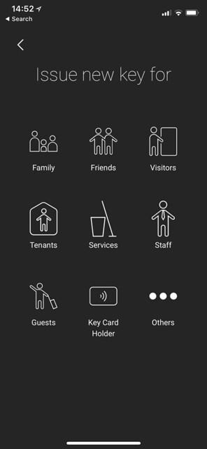 igloohome iOS App - Add New Key