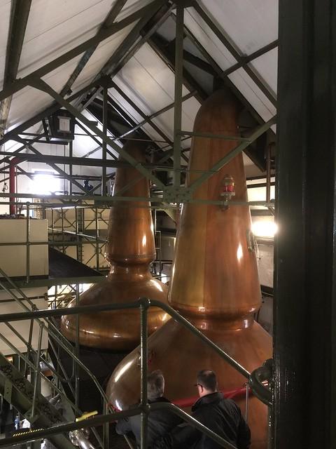 Still room at Ardbeg Distillery