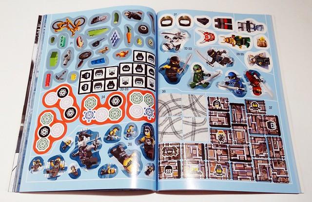 LEGO NINJAGO. 1001 naklejek. Ścigaj się i walcz  (7)