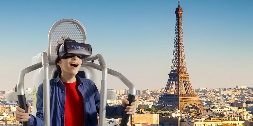 Une expérience de RV vous permet de survoler en jetpack la ville de Paris