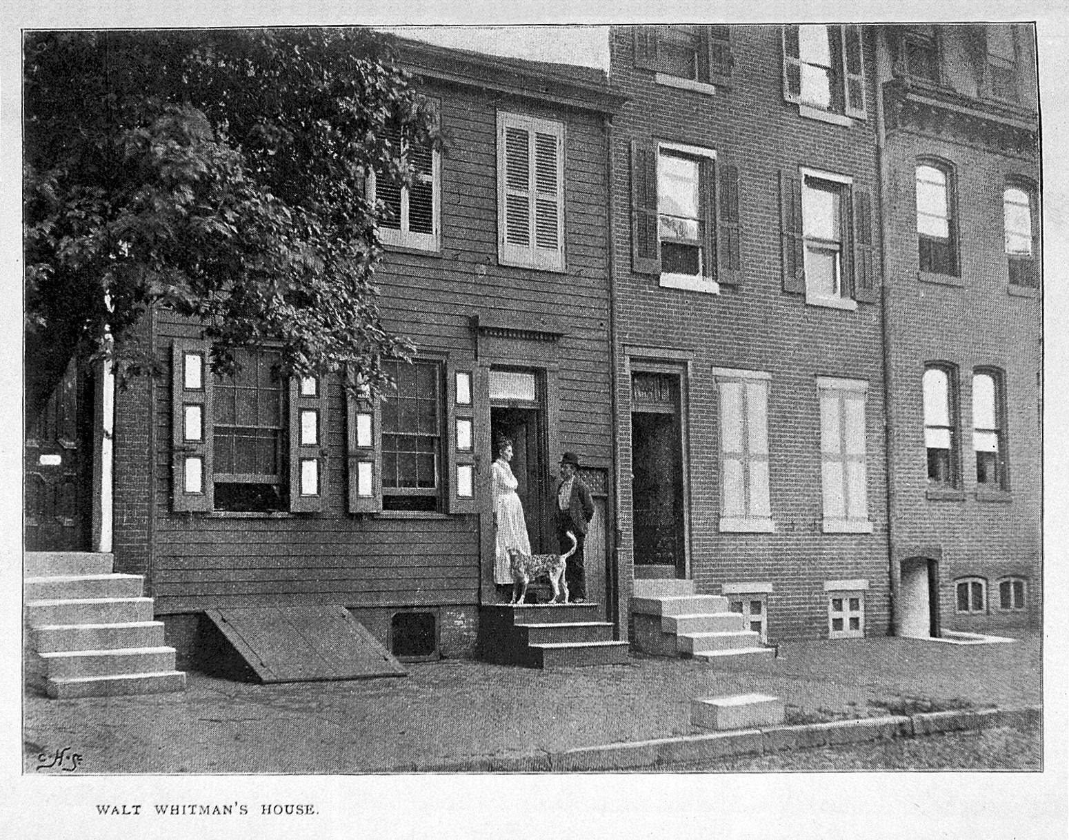 Walt Whitman's house in Camden, New Jersey