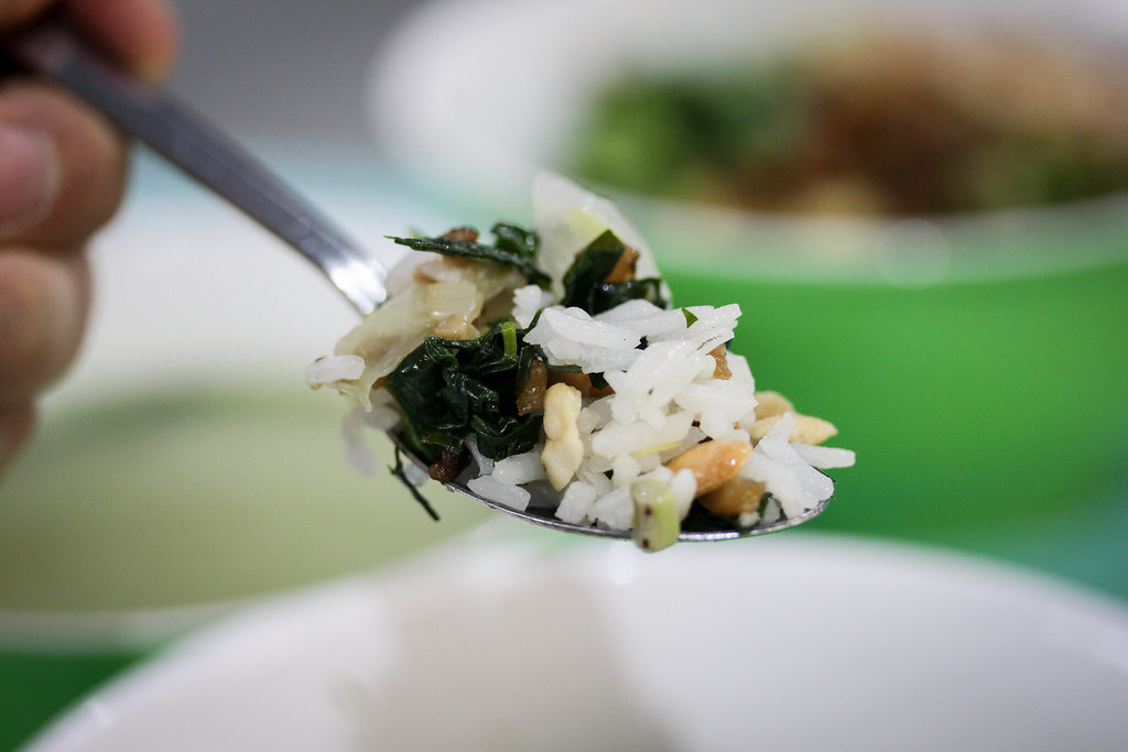 Spoonful of White Rice