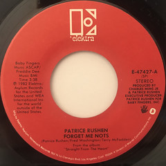 PATRICE RUSHEN:FORGET ME NOTS(LABEL SIDE-A)