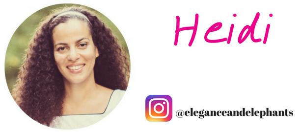 Heidi blog