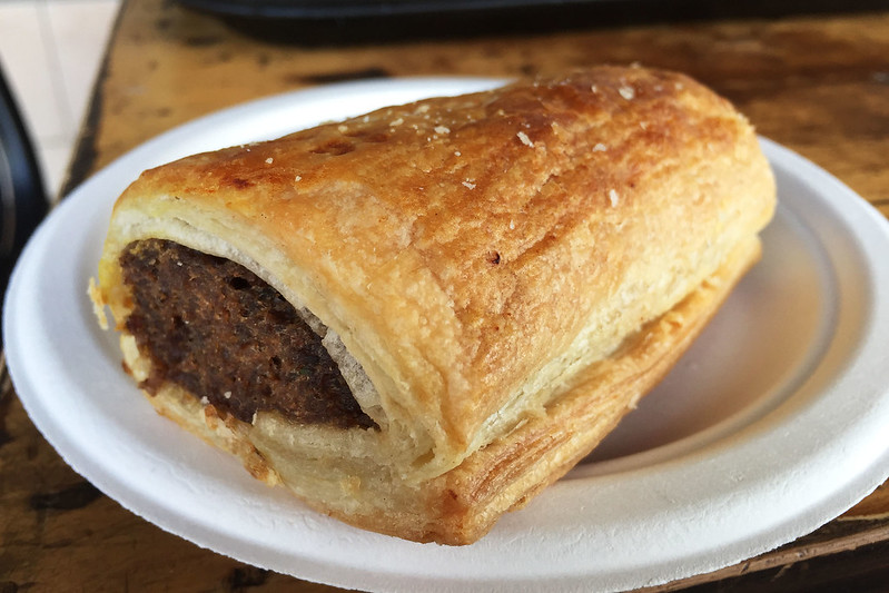 Sausage roll, Ryan's Bakery & Coffee Lounge