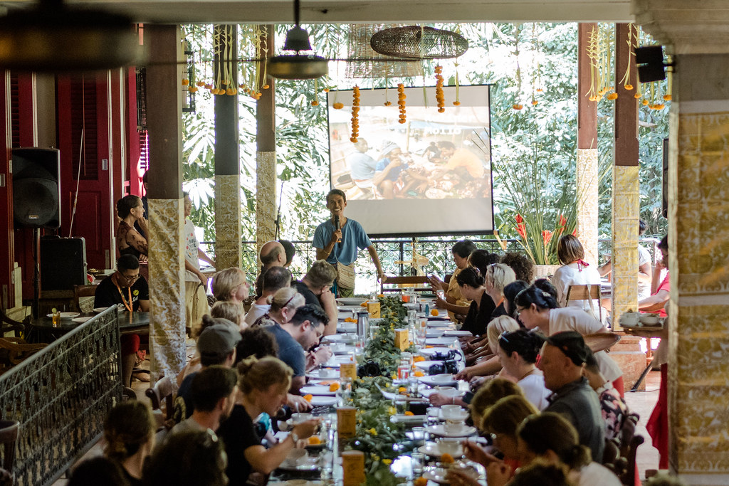 Image Credit: Anggara Mahendra. Special Event: Papua, Timor and Bali on the Table. Casa Luna Restaurant.