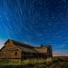 Star Trails over the Grand Old Barn