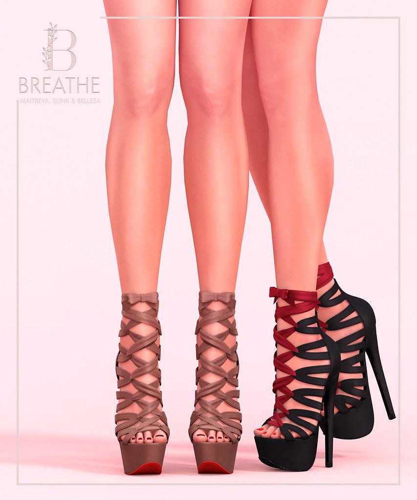 [BREATHE]-Chisato Heels - TeleportHub.com Live!