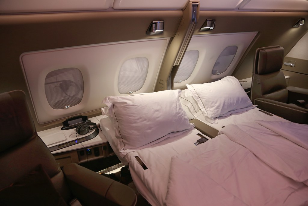 Singapore Airlines First Class Suites 87