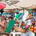 Vendor at Los Muertos Beach por Robert E. Adams