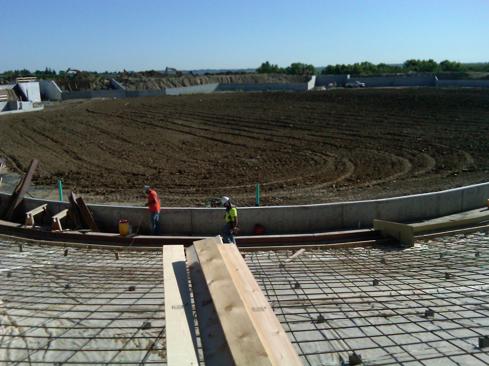 Werner Park construction, 2009-2010
