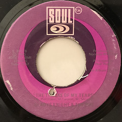 GLADYS KNIGHT AND THE PIPS:IF I WERE YOUR WOMAN(LABEL SIDE-B)