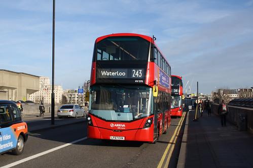 Arriva London HV378 LF67EVK