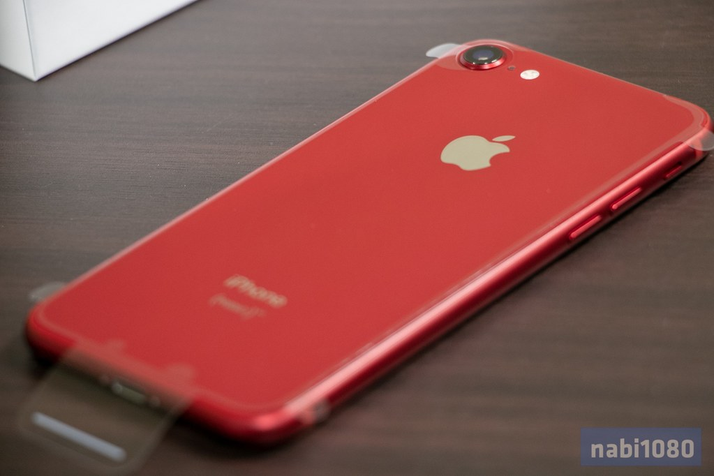 IPhone 8 Product RED 開封09