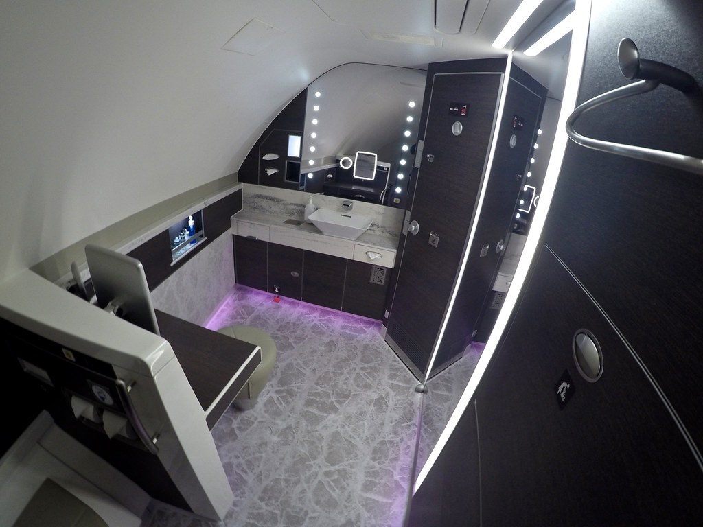 Singapore Airlines First Class Suites 50