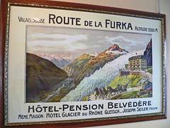 Suisse, le Glacier Furka le Rhône