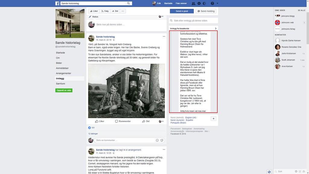 facebook sukkerert 2