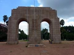 Homenagem à FEB no Parque da Redenção