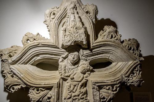 Monasterio de Sijena, Fragmento de la Cruz de Término