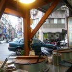 Bike through Keelung. Lunch spot