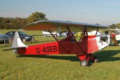 G-ASEB Luton LA-4A (PAL 1149) Popham 121008