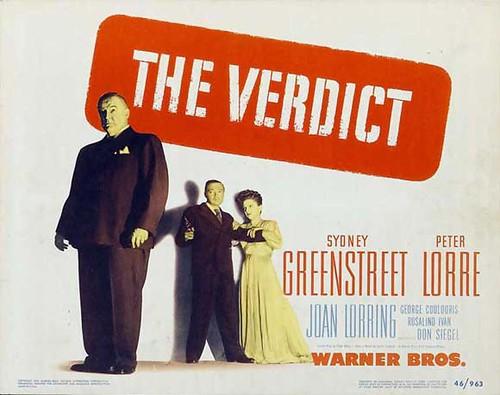 The Verdict - 1946 - Poster 1
