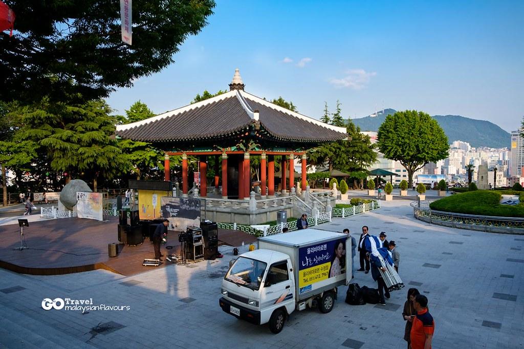 busan itinerary Yongdusan Park