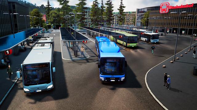 Bus Simulator 2018 - Otobüs İstasyonu