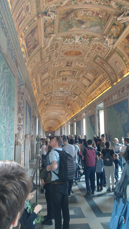 The 'Gallery of Maps' at The Vatican