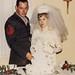 Mary Lou Turner and Joseph Allen Harrsch at their Wedding Reception in 1968 by mharrsch
