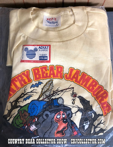 Vintage Disney Country Bear Jamboree Shirt - Country Bear Collector Show #144
