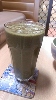Jaffa Cake Green Smoothie