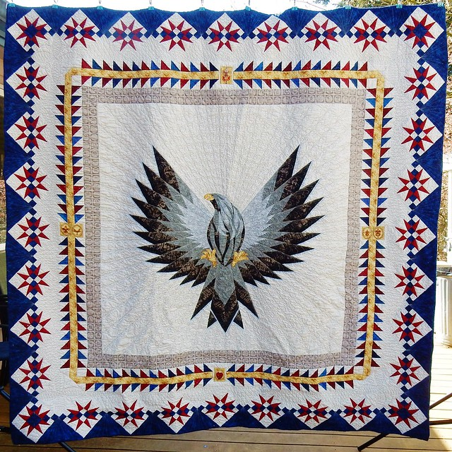 Eagle Scout Quilt: finished!