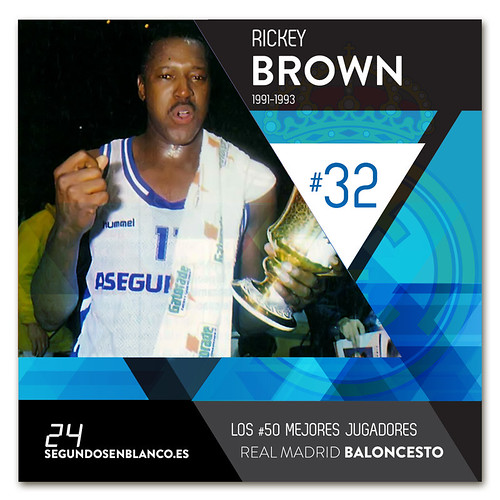 #32 RICKEY BROWN