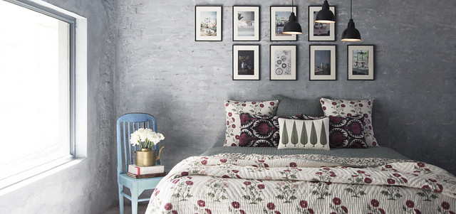 hand block print bedsheet for summer from good earth